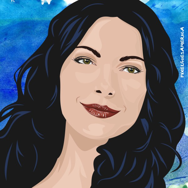Laura Prepon Vektor Illustration