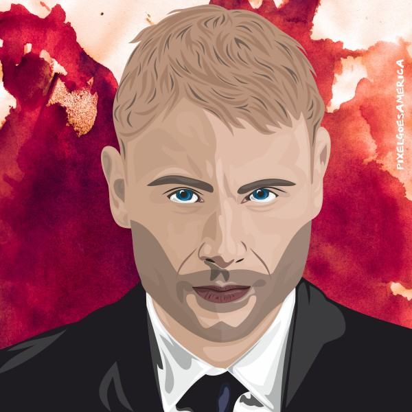 Wolfgang Sense8 Vektor Illustration